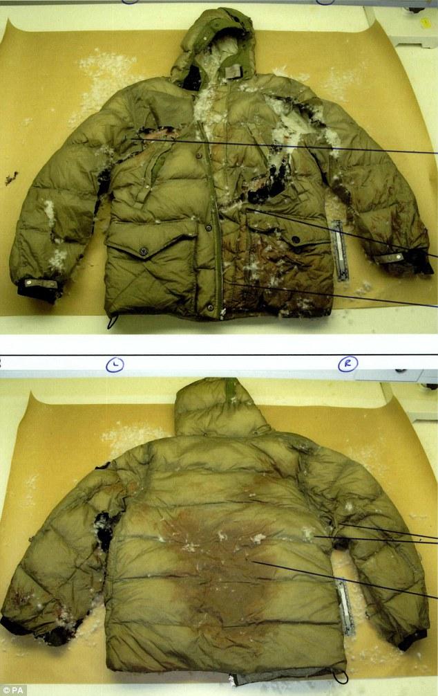Duggan's jacket