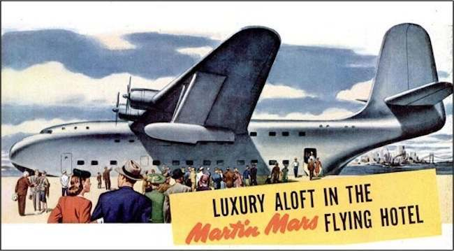 flying hotel All Aboard The Martin Mars Flying Hotel