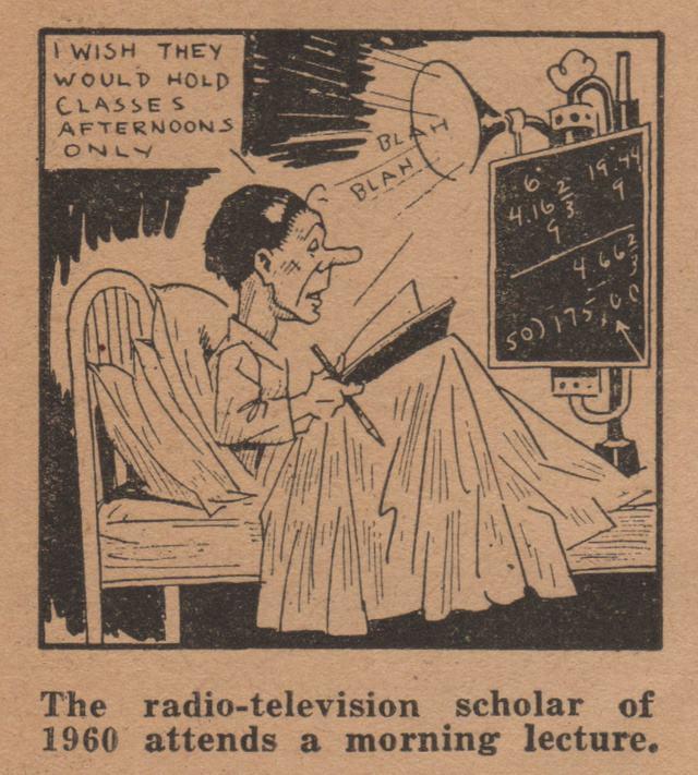 online 1963 In 1934 Northwestern University Predicted Learning Via The Internet