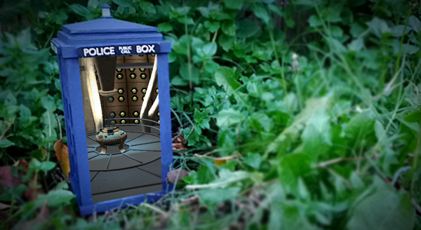 tardis pan Dr Who: This TARDIS Really IS Bigger On The Inside