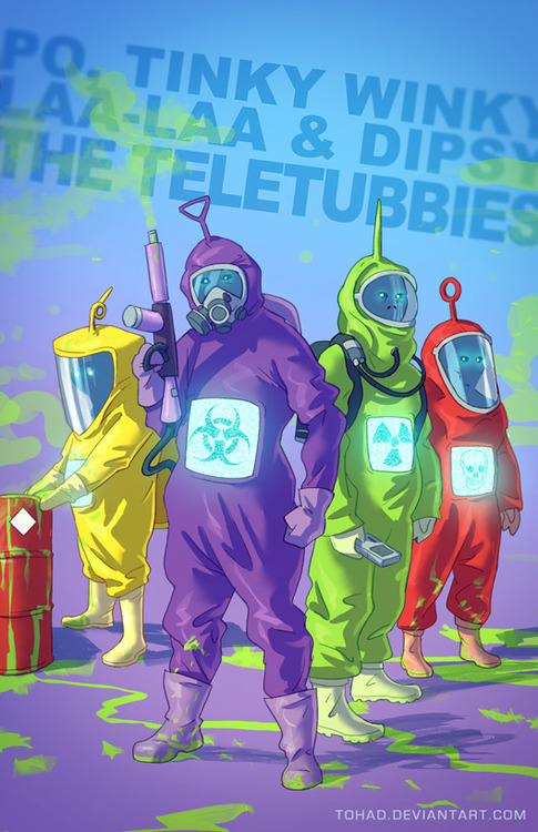 teletubbies gone bad
