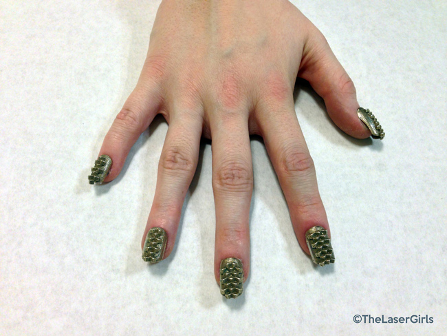 brass nails