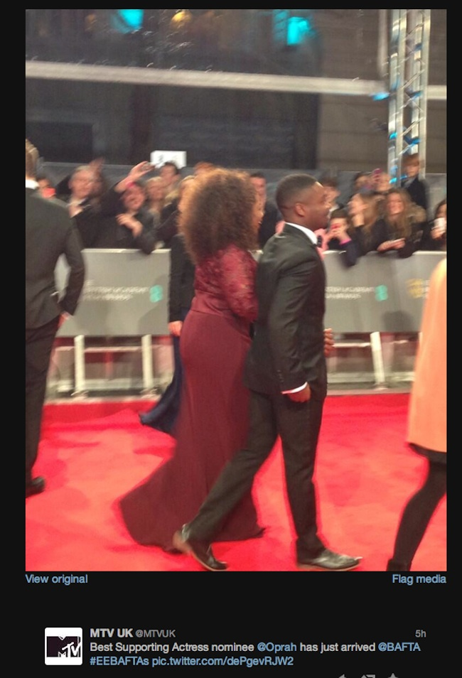 MTV terrible baftas oprah