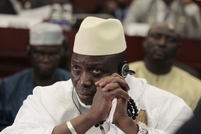 PA 11091881 Death Of The Gambia: President Yahya Jammeh Aims DDT At LGBT Human Vermin
