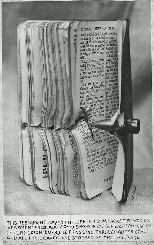 Pte Hacket bible