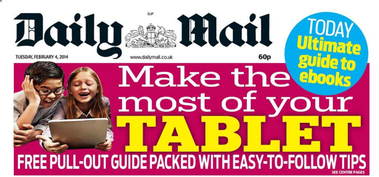 Screen shot 2014 02 04 at 08.34.38 Daily Mail Wants More Readers To Use Tablets And Get Cancer