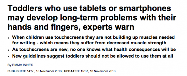 Screen shot 2014 02 04 at 08.39.08 Daily Mail Wants More Readers To Use Tablets And Get Cancer