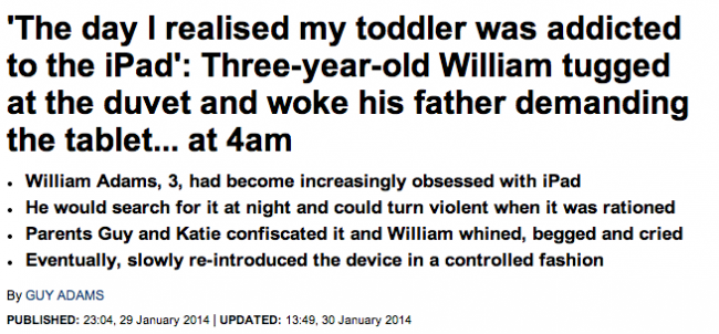 Screen shot 2014 02 04 at 08.44.09 Daily Mail Wants More Readers To Use Tablets And Get Cancer