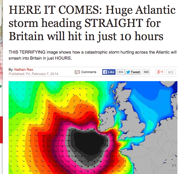 Screen shot 2014 02 08 at 09.05.06 Daily Express Weather: Everyone Dead By Teatime