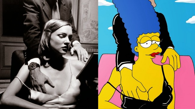 The Simpsons Meets Helmut Newton by AleXsandro Palombo 1