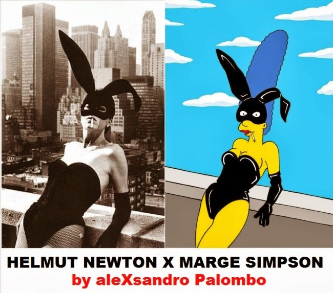 The Simpsons Meets Helmut Newton2