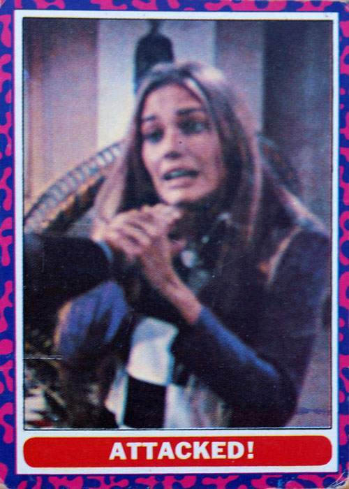 VINTAGE MOD SQUAD TRADING CARD PUZZLE NO.2 1968 17 Insane and Disturbing Trading Cards