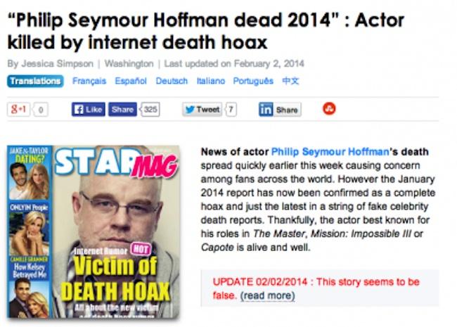 death hoax 1
