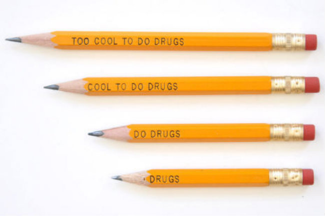 drugs pencils You Can Still Buy Those Ridiculous Too Cool To Do Drugs Pencils