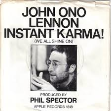 On This Day In Photos: John Lennon Sings Instant Karma! With A Sanitary Towel On Top Of The Pops