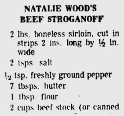 natalie wood's beef