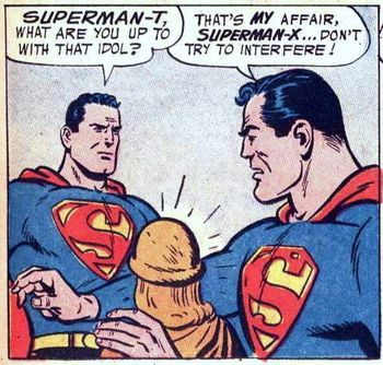 superman Great Moments in Phallic Occurrences