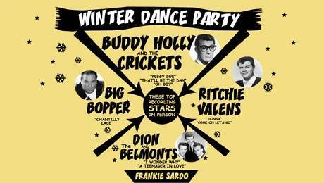 winter dance party On This Day In Photos: February 3 1959   Buddy Holly Dies On The Winter Dance Party Tour
