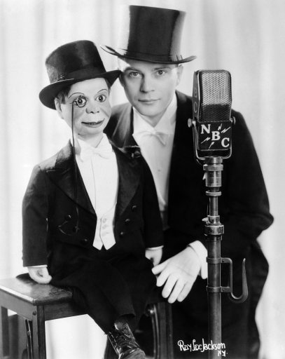 USA Edgar Bergen with Charlie McCarthy