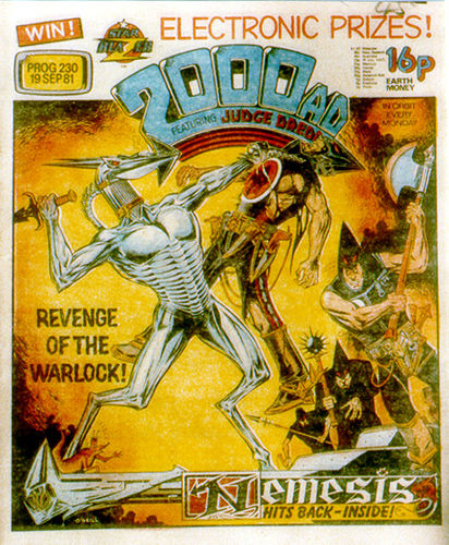 2000+ad+Revenge+Of+The+Warlock Comic Book Nerdorama: 12 Ways 2000AD Is Zarjaz