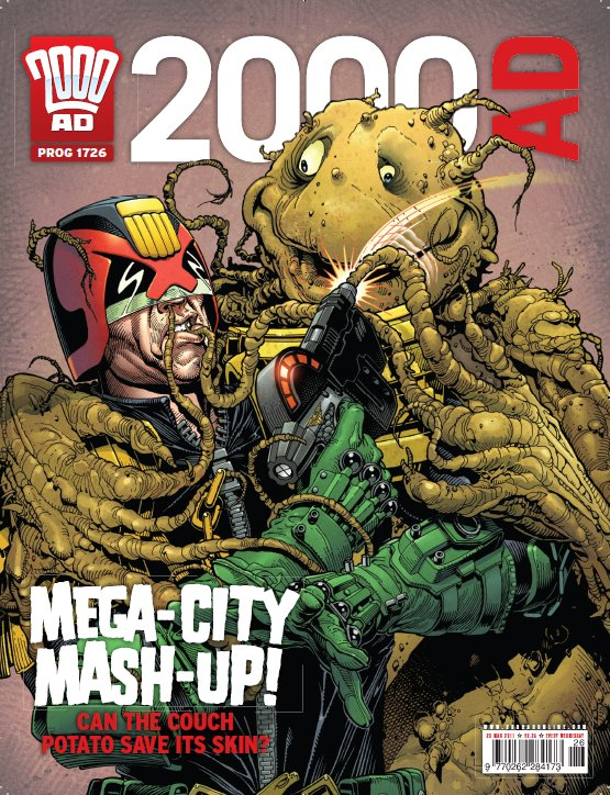 2000ad 1726 Comic Book Nerdorama: 12 Ways 2000AD Is Zarjaz