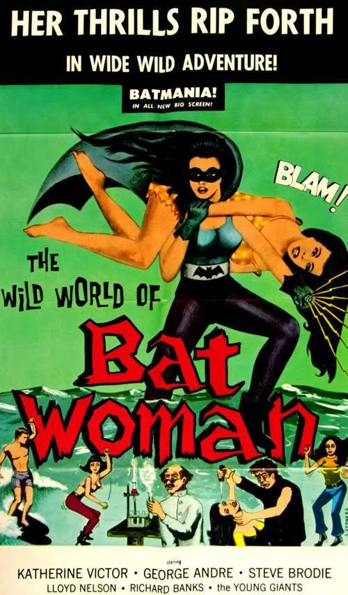Batwoman 1966 Exploring the IMDb Bottom 100: The Worst of The 1960s