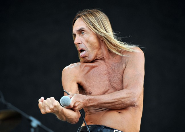 PA 10952467 Iggy Pop Wants A Kettle, Bob Hope And Fat People From Miami: The Tour Rider In Full
