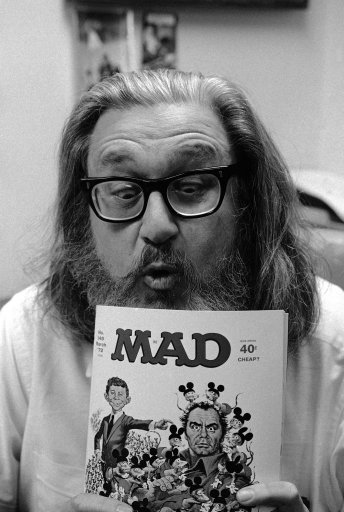 MAD publisher Bill Gaines, 1970.