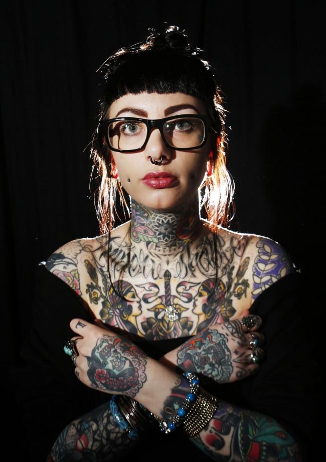 Nikki Proctor of Twit Twoo Tattoo