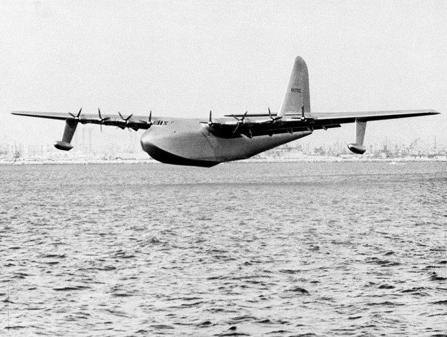 PA 3625143 1947 In Photos And Film: The Building And Only Flight Of Howard Hughes Massive Spruce Goose