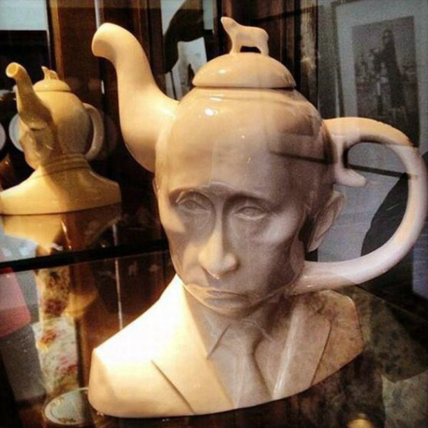 Putin teapot The Vladimir Putin Butt Plug And Enema