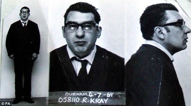 Ronnie Kray Police Photo1 The Blind Beggar And The Bloody Killing of George Cornell by Ronnie Kray