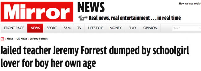 Screen shot 2014 03 09 at 07.40.32 The Suns Utter Balls On Jeremy Forrest And Gemma The Teenage Teacher Fancier
