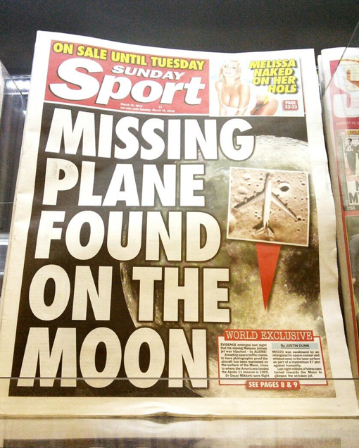 Screen shot 2014 03 16 at 21.22.32 Malaysia Airlines Flight MH370: Stolen By Pirates And Other Batshit Mental Theories In The British Tabloids