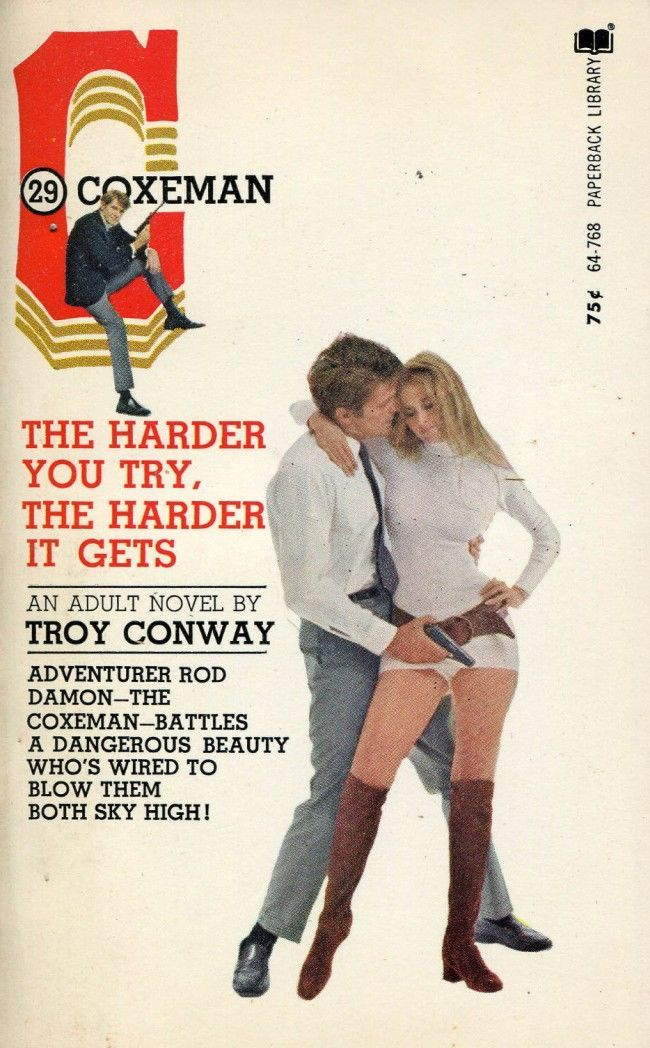 The Harder You Try, the Harder It Gets-Troy Conway-Vintage PB-1971