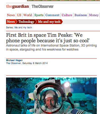 brits in space The Guardian Erases Helen Sharman From History In The Race To Praise Tim Peake, The First Brit In Space