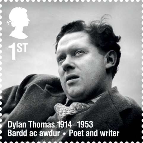 dylan thomas stamp