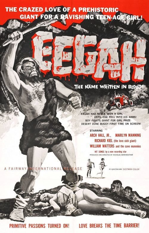 eegah poster 01 Exploring the IMDb Bottom 100: The Worst of The 1960s