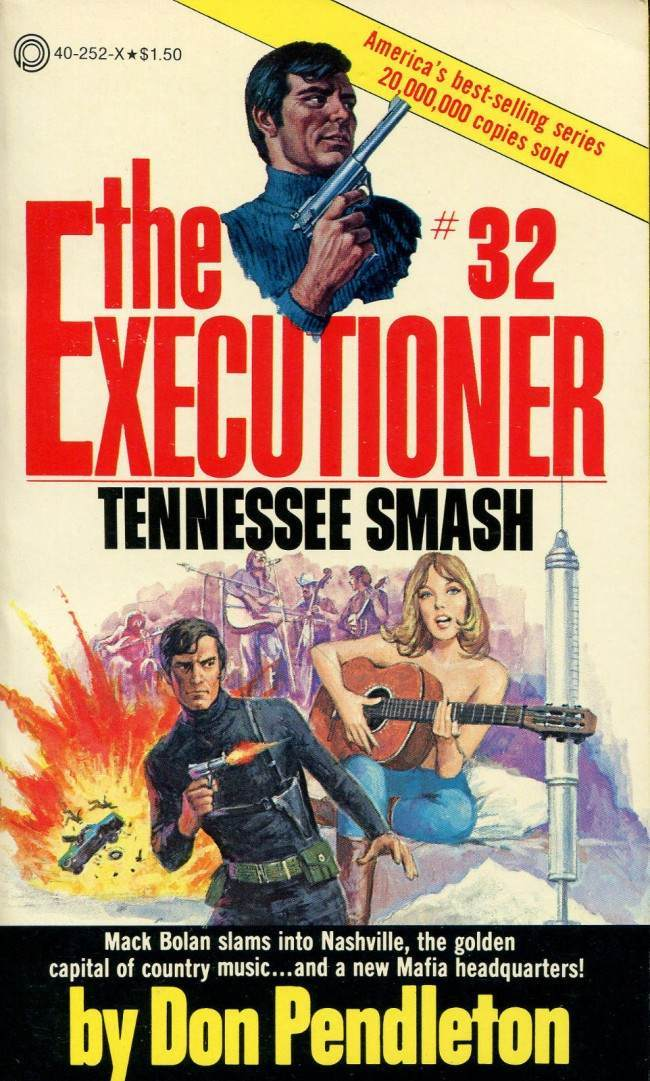executioner Guns, Babes And Testosterone Tales: 1970s Manly Action Paperbacks