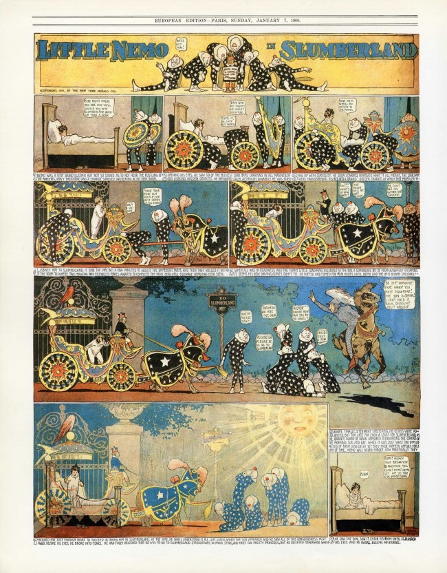 Little Nemo: Watch The Film And Read The Adventures Of The Most Sublime Comic Strip Hero