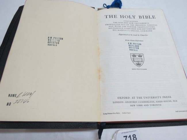 kray bible
