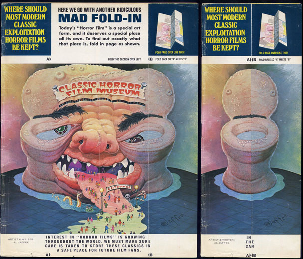 mad fold in 15 Things Mad Magazine Gave The World