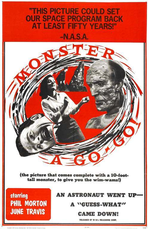 monster a go go poster 01 Exploring the IMDb Bottom 100: The Worst of The 1960s