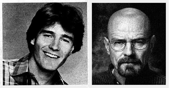 sidebyside breaking bad Bryan Cranston: Teen Heartthrob