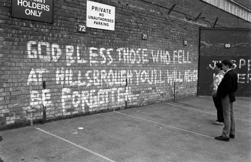 1174862 Hillsborough: 96 Liverpool Fans Killed By A Slum Sport Watched By Slum People In Slum Stadiums
