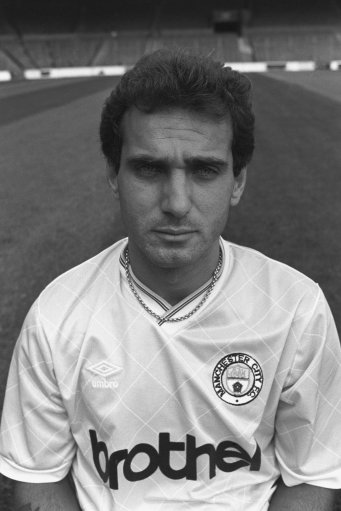 Imre Varadi, Manchester City. archive-pa224309-5c Ref #: PA.17650039  Date: 20/08/1987