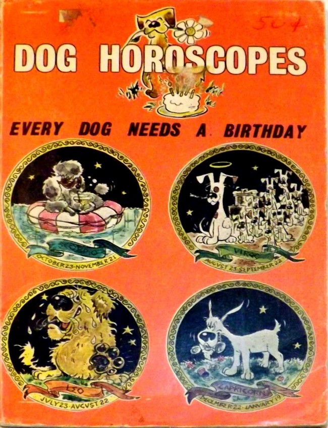 1972 TFH Book Dog Horoscopes Tomes Of Shame: Awful Nonfiction From The 1970s