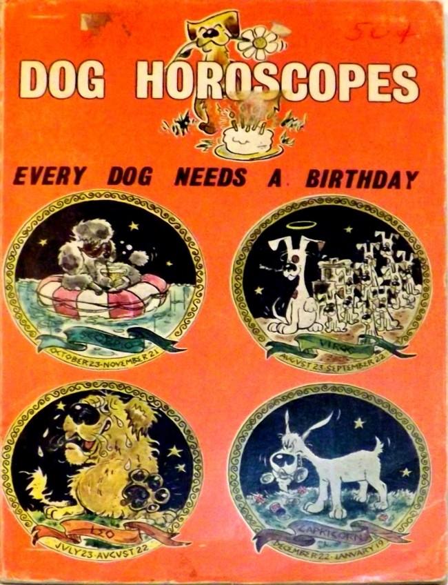 1972 TFH Book - Dog Horoscopes