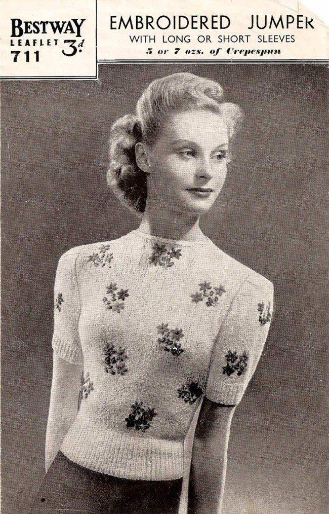 DIY english fashion  DIY English Fashions Of The Mid 20th Century