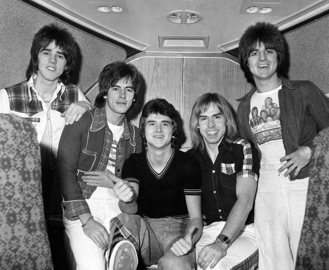 PA 1072536 Bay City Rollers 1975 The Rise and Fall of Les McKeown and the Bay City Rollers